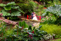Abbotsbury Gardens Wedding couple