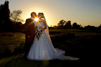 Dudsbury Golf Course Wedding Sunset