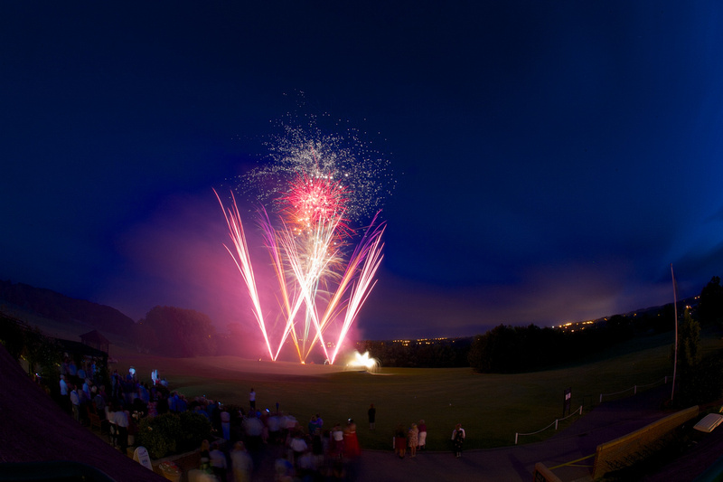 Dudsbury Golf Course Wedding Fireworks