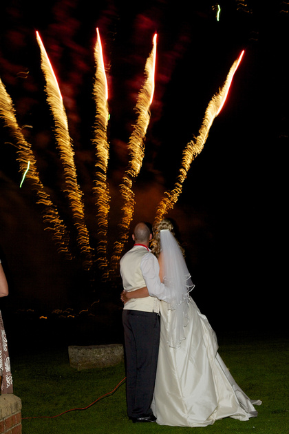 Dorset Wedding Fireworks